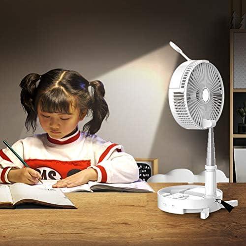 Akemaio Ventilatore a spruzzo d\'Acqua umidificante Pieghevole Ventilatore elettronico di Ricarica Multifunzione Ventilatore a Scomparsa Portatile Luce Notturna