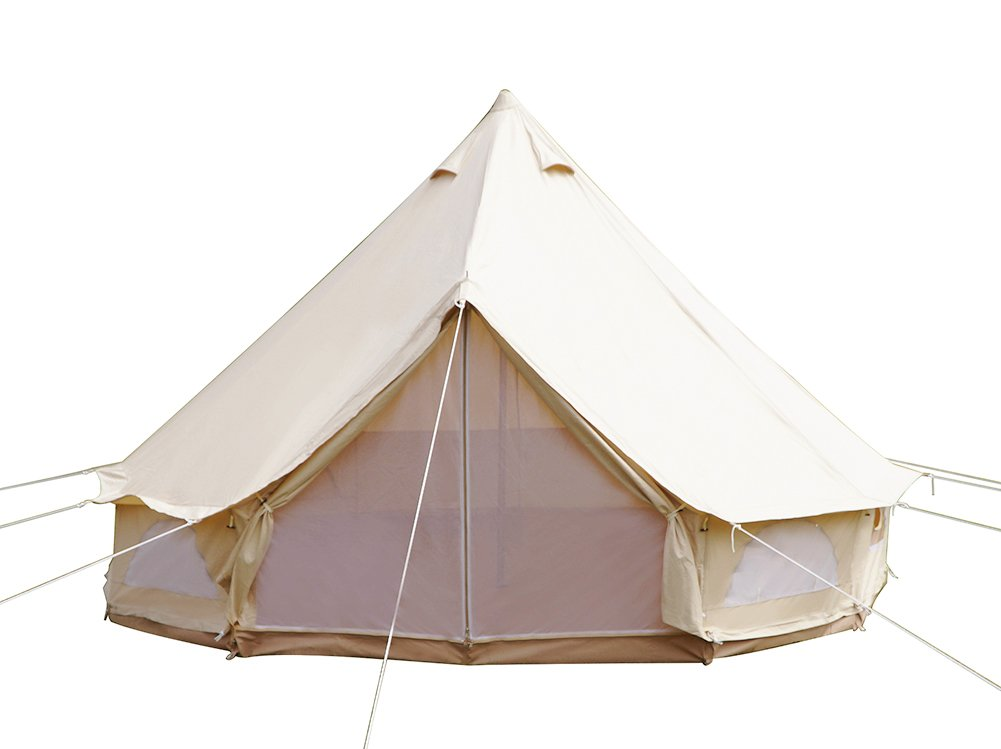 Dream House Diameter 4M 900D Oxford Cloth Outdoor Large Family Camping Tent by Dream House