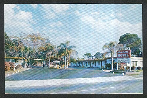Ring Plaza Motel 5350 North Tamiami Trail Sarasota FL postcard ()