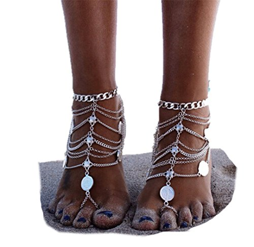 SUNSCSC Vintage Blessing Anklets Jewelry product image