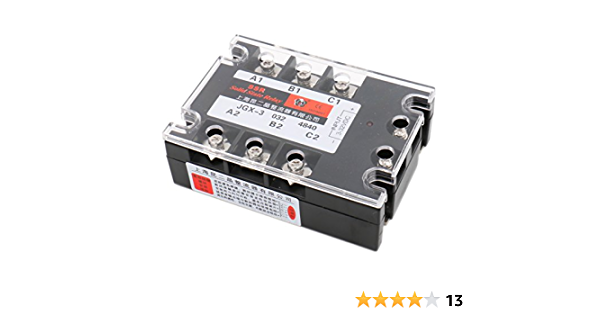 Details about  /SSR-380D40 single-phase AC solid state relay IN3-32V 50HZ(60HZ)-30℃ ~ 75℃