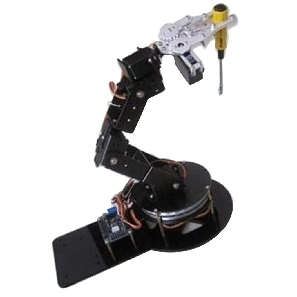 F Fityle Roboterarm Clamp Claw Mount Kit Mit MG 996R Servos Für Arduino