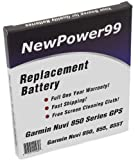 Battery for Garmin Nuvi 850 Series GPS (Nuvi 850, 855, 855T) with Free Screen Cleaning Cloth, Best Gadgets