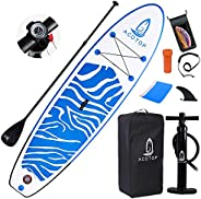 """Inflatable Stand Up Paddle Board, 10'6"""" ×33"""" × 6"""" Sup for All Skill Levels Inflatable Paddl"""