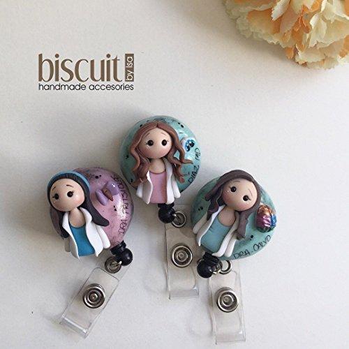 Custom Card holder  Kawaii style . A mini you  (Cold porcelain, clay)