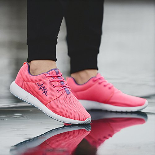 IceUnicorn Damen Leichtgewichtige Sportschuhe Runners Sneakers Freizeit Laufschuhe Pink
