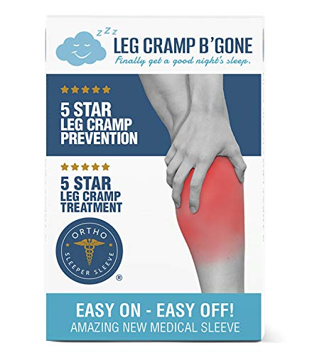 Stop Night Leg Cramps - Absolutely Guaranteed - Nothing to Lose But Pain - Easy On, Easy Off - Seldom Ever Returned - If So Your Money Back - 40% Off List - Leg Cramp B'Gone, LLC.