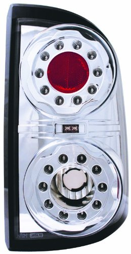 IPCW LEDT-404C Crystal Clear LED Tail Lamp - Pair