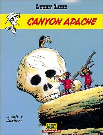 Lire un Les Indispensables de la BD, Lucky Luke, tome 6 : Canyon Apache pdf, epub ebook