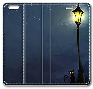 Cat Spy Slim Soft Cover for iPhone 6 Case (4.7 inch) TPU Black