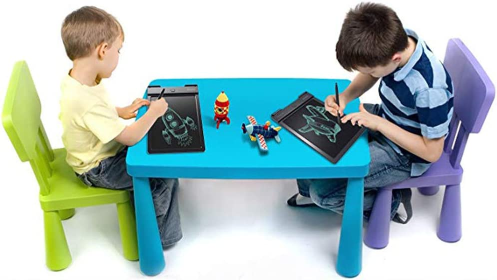 JXFS 9 inch Black LCD Writing Tablet Board Electronic Drawing Pad eWriters for Kids and Adults Entertainment Learning and Working Long Lifespan