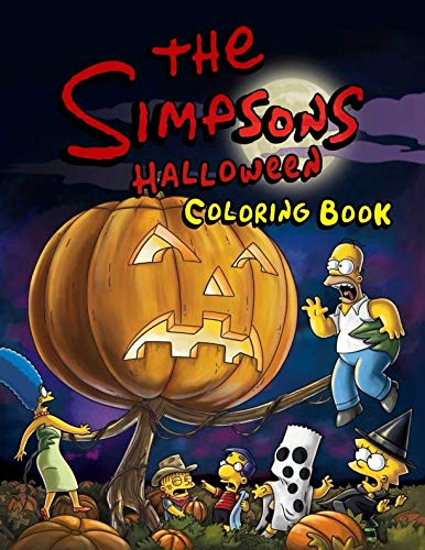 The Simpsons Halloween Coloring Book -