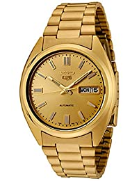 Seiko Men's 5 Automatic SNXS80K Gold Stainless-Steel Automatic Watch