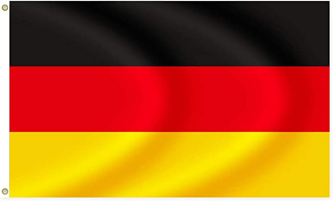 Alsino Deutschland Flagge Fahne Fane Länder Deutschlandfahne Fußball Wm Fanartikel Maße 90x150 Cm Fl 04 Bekleidung