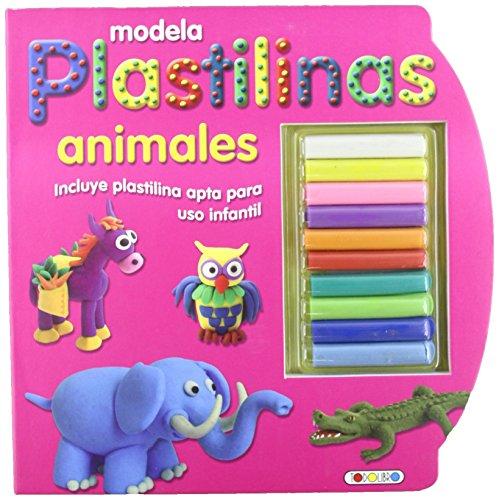 MODELA PLASTILINAS ANIMALES by TODOLIBRO (Folleto)1900