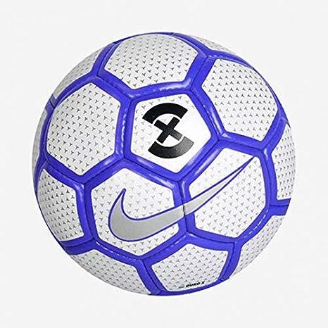 Nike Duro X - Balón de fútbol, Color Blanco y Azul: Amazon.es ...