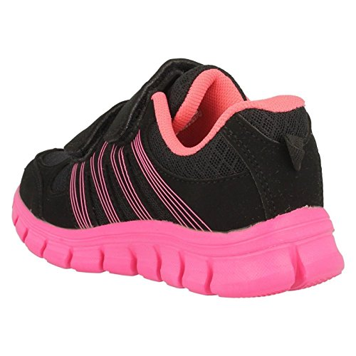 Childrens Air Tech Trainers Sprint Black/Pink (Pink) sbFdLg