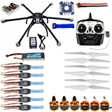 QWinOut DIY Unassembled Hexacopter Aircraft QQ SUPER Flight Controller ARF/RTF Combo Kit