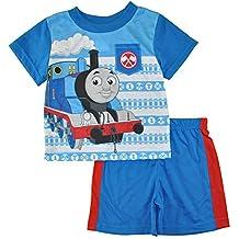 Nickelodeon Thomas The Train Toddler Boys' Thomas The Train 2-Piece Pajama Set