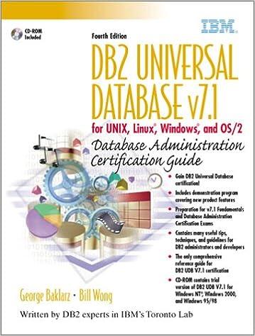 DB2 Universal Database v7.1 for UNIX, Linux, Windows and OS/2 ...