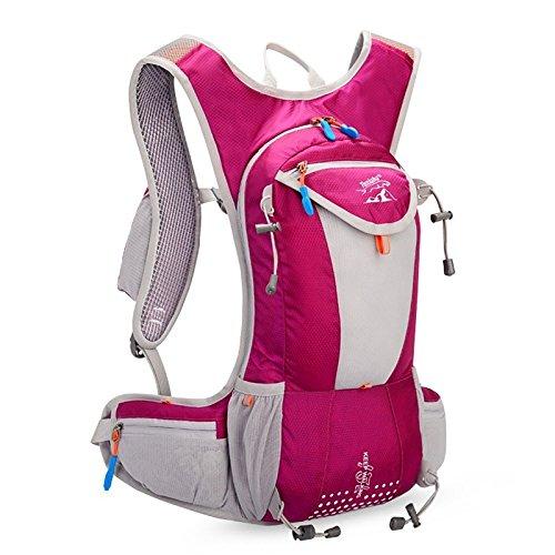 hongrun sports de plein air équitation randonnées sac à dos polyester imperméable sac à bandoulière double extérieure