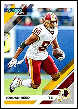 buy popular d70cf 95803 Amazon.com: Football NFL 2019 Donruss #191 Jordan Reed ...