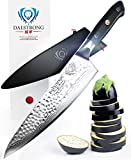 "DALSTRONG Chef's Knife - Shogun Series X Gyuto - VG10 - Hammered Finish - 8"" - w/ Chef Knife Sheath"