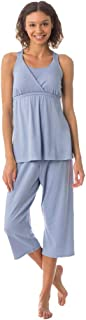 product image for Maternity Pajama Set - Nursing PJ Set - Majamas Kinzie Nursing/Maternity Pajama, Periscope, Large