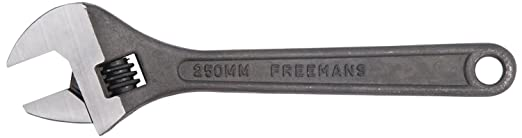 Freemans AW12 Phosphate Finish Adjustable Wrench - 12 Inch