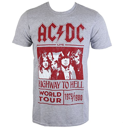 t-shirt metal men's AC-DC -