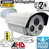 Ventech Hybrid HD 2.0MP 1080P AHD / 960H Bullet Security Camera Outdoor 4mm Lens 2 power IR LEDs ICR Auto Day Night Video Surveillance (Default 1080P Mode) CAMAHD Review