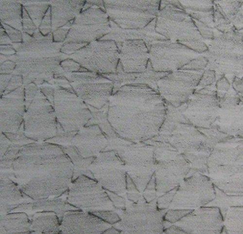 - Islamic Stars Polymer Clay Design Texture Plates (Half Page)