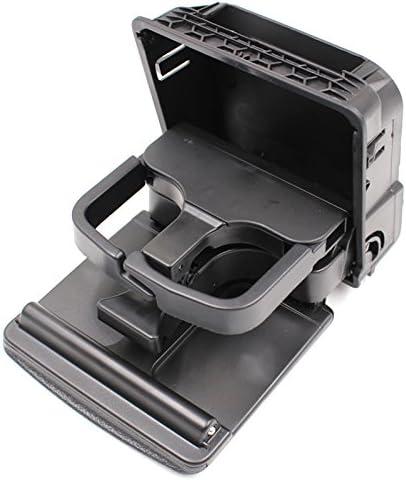 BEEAUTO Beauto 1K0862532 1K0862533 - Soporte de consola central plegable para Golf 5 Golf 6 MK5 MK6, color negro: Amazon.es: Coche y moto
