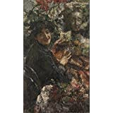 The polyster Canvas of oil painting 'Antonio Mancini Aurelia ' ,size: 24 x 41 inch / 61 x 104 cm ,this Imitations Art DecorativeCanvas Prints is fit for Garage gallery art and Home decor and Gifts