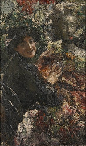 oil-painting-antonio-mancini-aureliaabout-1906-30-x-51-inch-76-x-130-cm-on-high-definition-hd-canvas