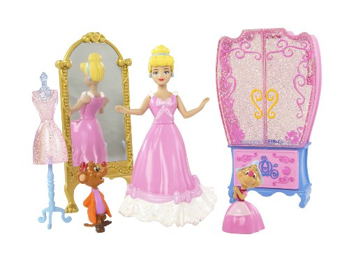 Disney Princess Favorite Moments Fairytale Scenes Cinderella Playset