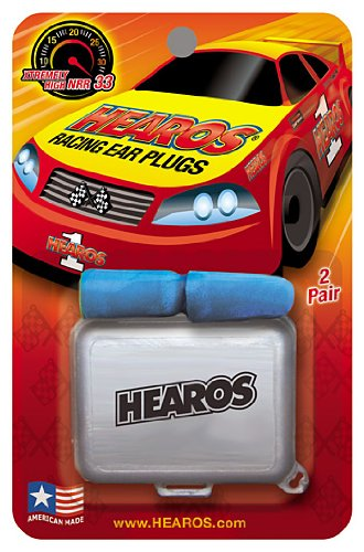 Hearos Racing Plugs Corded Count