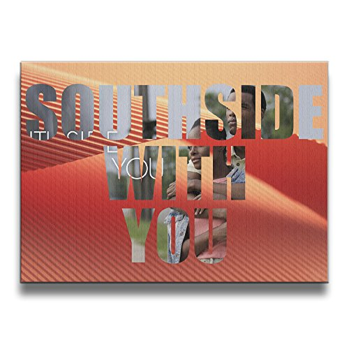 Custom Southside With You 16*20 Inch Solid Wood Room Decoration Frameless - With Obama Barack Sunglasses
