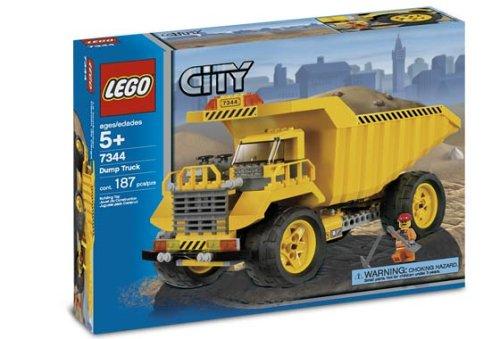 cómodo LEGO City 7344 7344 7344 - Camión volquete  connotación de lujo discreta
