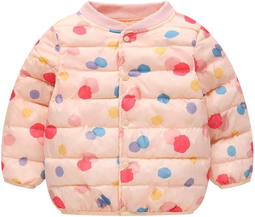Theshy Kids Baby Winter Cartoon Print Coat Cloak Jacket Thick Warm Outerwear Clothes Winter Coat