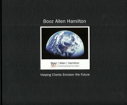 BOOZ ALLEN HAMILTON: Plateful Clients Envision the Future