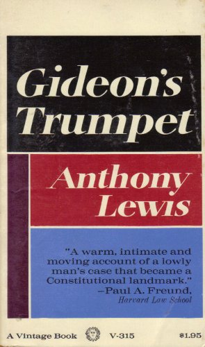 gideons trumpet analysis View homework help - gideon's trumpet chapter 10 summary from history united sta at dwight-englewood school gideons trumpet chapter 10 summary bruce robert jacob, a.