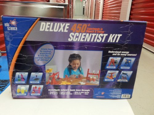 (Deluxe 450+ Experiments in Physics & Energy Scientist Kit)