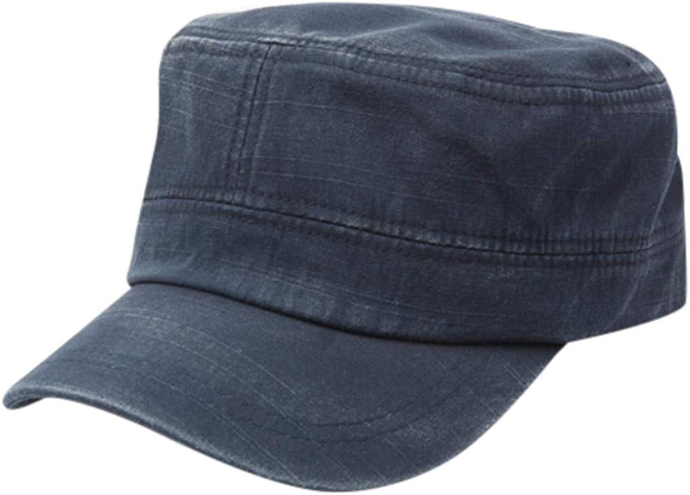 FRAUIT Sombrero Plano para Hombres Y Mujeres Unisex Sombrero ...
