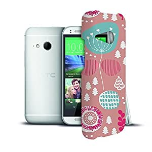 Phone Case For HTC One Mini 2 - Winter Garden Pink Protective Hardshell