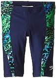 Speedo Big Boys' Shatter Skin Youth Jammer Swimsuit, Blue/Green, 22