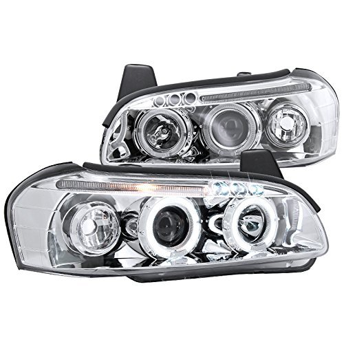 Spec-D Tuning LHP-MAX00-TM Chrome Projector Headlight (Housing) -