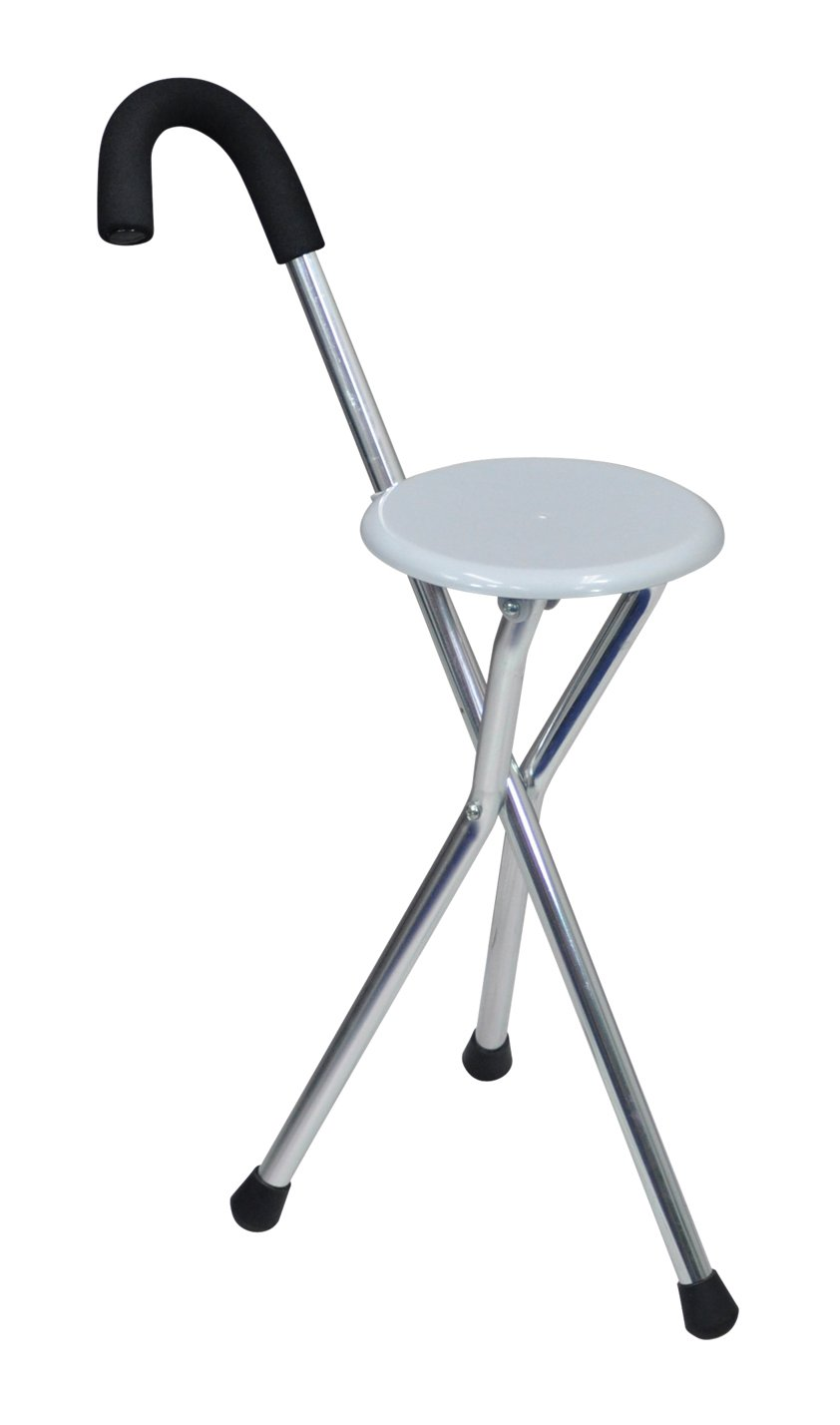 Attirant Amazon.com : Aidapt VP159A Disability Medical Aid Folding Seat Cane (Walking  Stick U0026 Chair Seat) : Beauty