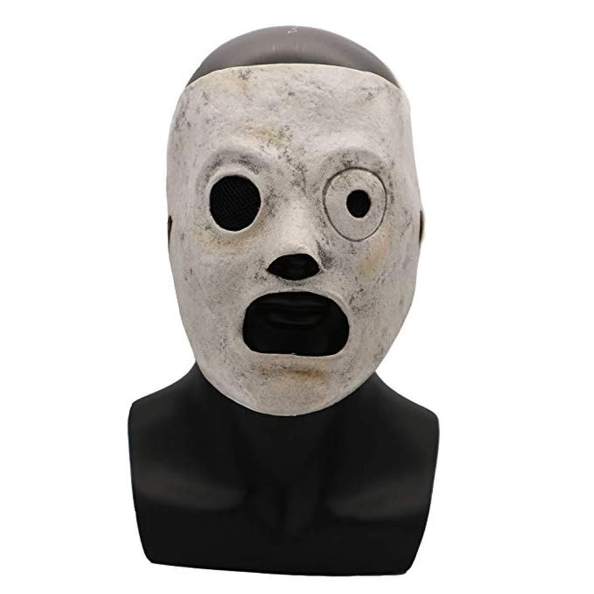 Hongzhi Craft Slipknot Latex Mask Corey Taylor Adjustable Accessory for Adult (Craft Slipknot Mask) by Hongzhi Craft