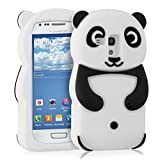 kwmobile Silicone CASE Panda Samsung Galaxy S3 Mini - Stylish Design and Optimal Protection